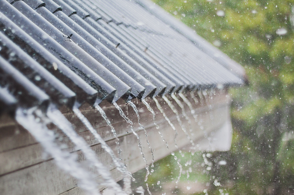 What can I use to waterproof my roof rain