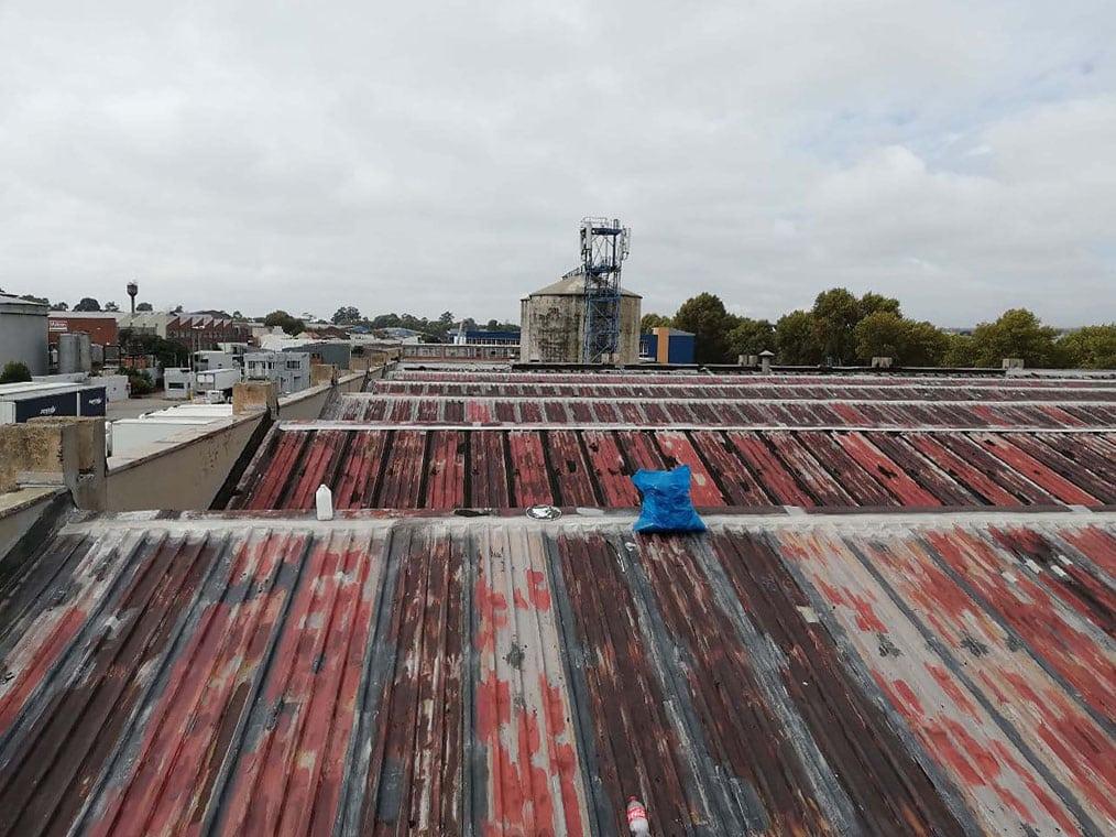 RubberRoofs Industrial Waterproofing Before