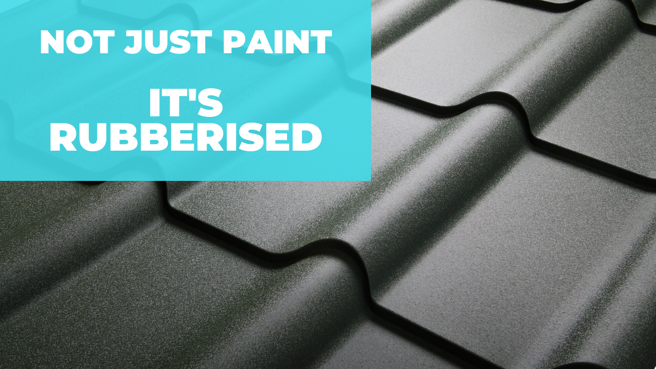 NOT JUST PAINT BUT RUBBERISED